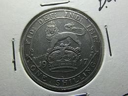 Great Britain 1 Shilling 1917 Silver - I. 1 Shilling