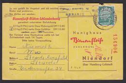 Stevede über Coesfeld Westfalen Posthilfstelle/Landpost 1954  (16960 - Sin Clasificación