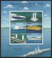 Gambia 2000 - Mi-Nr. 3955-3960 ** - MNH - Schiffe / Ships - Gambia (1965-...)