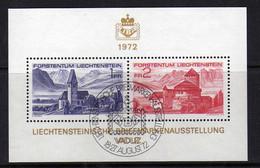 Liechtenstein (1972) - BF Architecture - Oblitere - Blocchi & Fogli