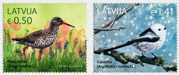 Latvia Lettland Lettonie 2018  RARE BIRD FULL SET (o) Used - Latvia