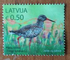 Latvia Lettland Lettonie 2018  RARE BIRD  Used ( ~~ ) - Latvia