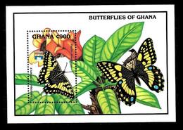 Ghana 1992 Yvert Bloc 190 ** Vlinders - Butterflies Papillons Mariposas Farfalle Schmetterlinge - Ghana (1957-...)