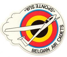 Force Aérienne - Luchtmacht - Airforce - Belgian Air Cadets - Sponte Sua - Pegatinas