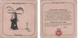 Bierdeckel Quadratisch - Warsteiner Geschmacksverfeinerung - Portavasos
