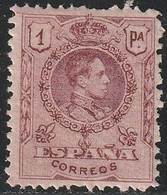 1909. * Edifil: 278N. ALFONSO XIII-MEDALLON. A.000.000 - Ongebruikt