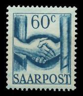 SAARLAND 1948 Nr 240 Postfrisch X884576 - Unused Stamps