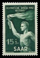 SAARLAND 1952 Nr 314 Postfrisch X884622 - Unused Stamps