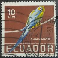 ECUADOR 1958 Tropical Birds. USADO - USED. - Ecuador