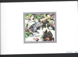 Pitcairn Islands 2002 Local Cats Miniature Sheet As Imperforate Printer Proof - Pitcairn Islands