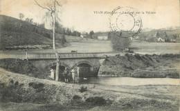 """CPA FRANCE 19 """"Viam, Le Pont Sur La Vézère"""". - Andere Gemeenten"""