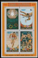 Cook Islands 1972 München Olympic Games Souvenir Sheet MNH/** (G30) - Sommer 1972: München