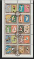 Sharjah 1972 Munich Olympic Games - Large Souvenir Sheet CTO (H59M) - Sommer 1972: München