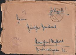 "German Feldpost WW2: Kreuzer ""Admiral Hipper"" FP M17209 With Faint CDS - Cover (G129-24) - Militaria"