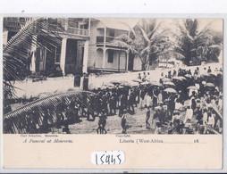 LIBERIA- MONROVIA- A FUNERAL AT MONROVIA - Liberia