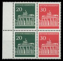 BRD BUND HEFTCHENBLATT Nr HB 19 Postfrisch X906B7E - Se-Tenant
