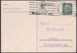 Germany - 1936 O - Olympic Games 1936 - Card  (Grunau - Regattabahn) - Estate 1936: Berlino