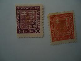 CZECHOSLOVAKIA  USED  STAMPS - Unclassified