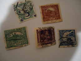 CZECHOSLOVAKIA  USED  STAMPS LOT - Unclassified