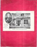 CAHORS - 46 -  CPA DOS SIMPLE - Maison GAMBETTA Bazar Génois - OGE1 - - Cahors