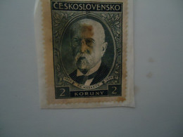 CZECHOSLOVAKIA  USED  STAMPS PEOPLES - Unclassified