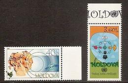 MOLDOVA 2001●Year Of Dialogue Of Civilisation /Mi407-08 MNH - Moldova