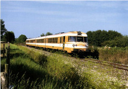 Le T 1009/1509 'E.T.G.) Assurant Le Train W Lyon Perrache Besançon Passe à St Paul De Varax (01) RV - Other Municipalities