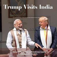 St.Vincent 2020  U.S. President Trump Visits  India ,  Narendra Damodardas Modi  I202104 - St.Vincent & Grenadines