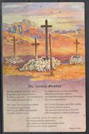 M2169 ✅ 1st World War Patriotic Cemetery Propaganda German Colonies Southwest Africa 1915 Germany PC Postcard Type-II ** - Namibia