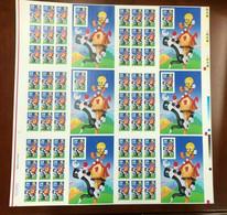 USPS 1998 - Sylvester And Tweety - Uncut Printer Sheet  Disney  - MNH (**) - Disney