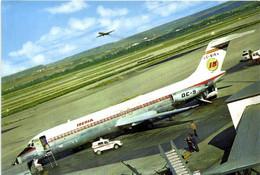 AEROPORTO  DE MADRID  BARAJAS  DC 9 IBERIA RV - Aerodromes