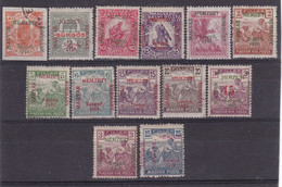 # Z.9792 Error! Hungary, French Occupation In Szeged 1919 Hungarian 13 Stamps Overprint Included 2 Errors! Used, MNH, MH - Szeged