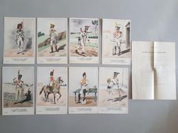 Ref6281 Lot De 8 CPA Militaria Bucquoys - Uniformes Du 1er Empire - Infanterie 1806-1807 - 25e Série - Uniformen