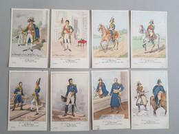 Ref6286 Lot De 8 CPA Militaria Bucquoys - Uniformes Du 1er Empire - Les Maréchaux - 31e Série - Uniformen