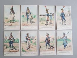 Ref6287 Lot De 8 CPA Militaria Boisselier - Uniformes Du 1er Empire - 2e Conscrits Chasseurs De La Garde - 32e Série - Uniformen