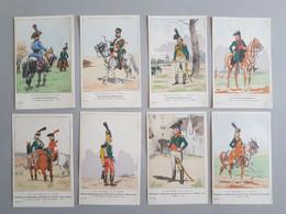 Ref6289 Lot De 8 CPA Militaria Benigni - Uniformes Du 1er Empire - Guides De Bonaparte - 35e Série - Uniformen