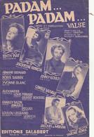 (AVRIL )Padam ...Padam , EDITH PIAF , JACQUELINE FRANCOIS , ANNY GOULD , Musique NORBERT GLANZBERG - Scores & Partitions