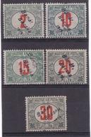 # Z.9846 Bánát Bácska 1919 Hungarian Full Set Overprint Michel: Porto 2 - 6 MLH, MNH: Porto - Banat-Bacska