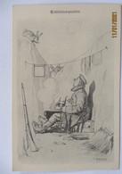 Soldat Hase Schützengraben, Tantalusqualen, Fliegende Blätter (20568) - War 1914-18