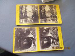 Lot De 2 Pierre De Vie  Photo Stereoscopique - Stereo-Photographie