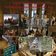 Tuvalu 2020   Metropolitan Museum Of Art ,paintings  I202104 - Tuvalu