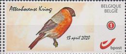 Goudvink (zelfklevend)  Attenhoven 13-4-2020 - Private Stamps