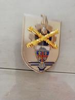 TE26457 INSIGNE MILITAIRE DE LA 13° BASE DE SOUTIEN DU MATERIEL DE L ARMEE DE TERRE  FAB LR PARIS G4590 - Esercito