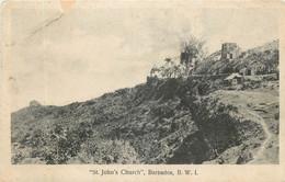 Barbados - B.W.I. - St. John's Church - Barbados