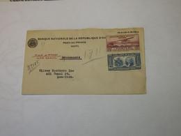 Haiti Airmail Cover To New York USA 1939 - Haití