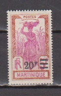MARTINIQUE       N°  YVERT  119  NEUF AVEC CHARNIERES    ( CHARN 1/06) - Nuevos