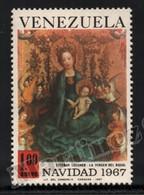 Venezuela 1967 Yvert Airmail 928, Christmas. Art. Virgin Painting, Madonna Rose Bower By Stefan Lochner - MNH - Venezuela