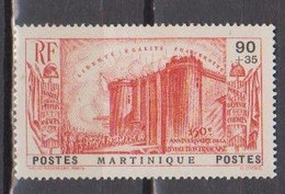 MARTINIQUE       N°  YVERT  172  NEUF AVEC CHARNIERES    ( CHARN 1/07 ) - Ongebruikt