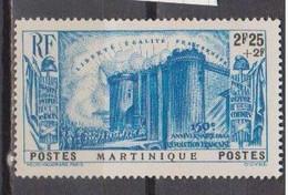 MARTINIQUE       N°  YVERT  174  NEUF AVEC CHARNIERES    ( CHARN 1/08 ) - Ongebruikt