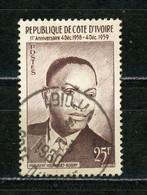 COTE D'IVOIRE : PRESIDENT -  N° Yvert 180 Obli. - Ivory Coast (1960-...)